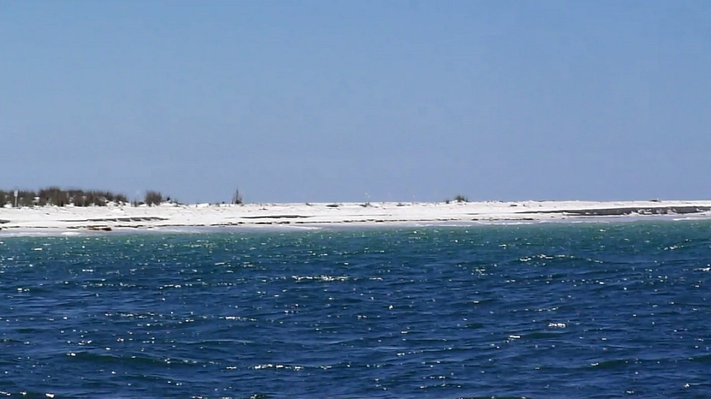 View From St. Joe Bay of The Tip of Cape San Blas State Park