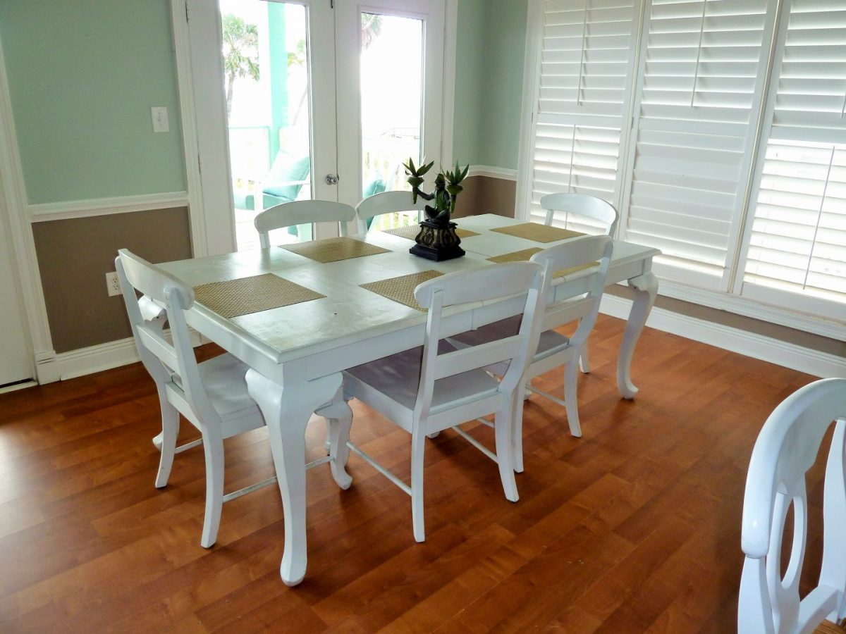 Dining Table and Chairs -8