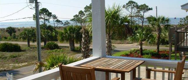 Three Palms- Lower Deck- Gorgeous Views Of Beach at Gulf of Mexico and Beach Path