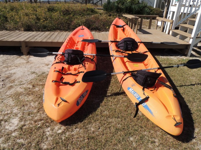 Two Palms-Kayaks for Guest Use- Ocean Going-1 Person and 2 Person-5