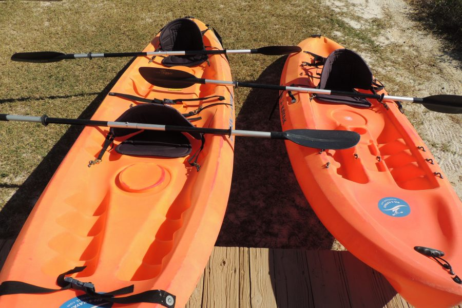 Three Palms Kayaks - 2 Available - With Oars and Lifejackets