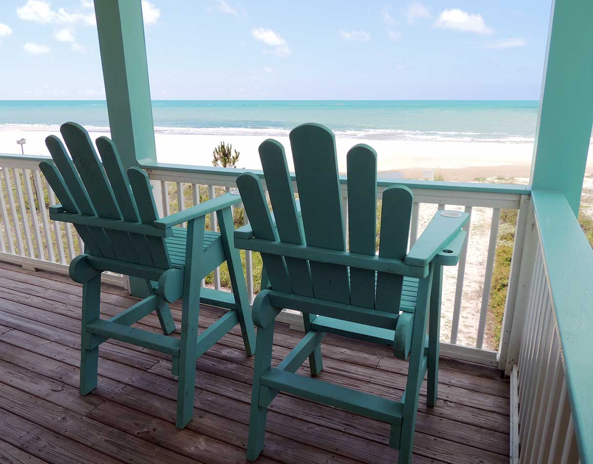 Upper Deck Lifeguard Chairs-Unobstructed Views of Beach and Gulf of Mexico