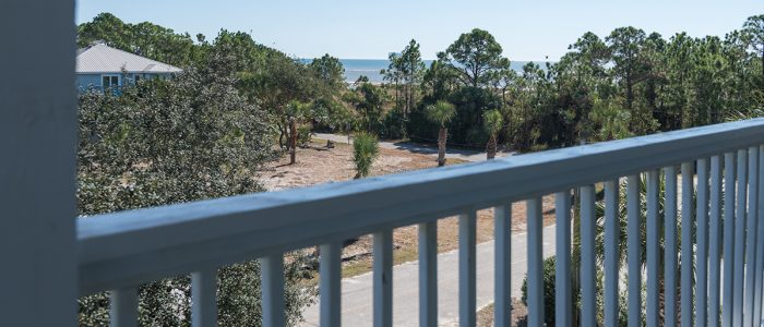 Three Palms Upper Deck View of Beach