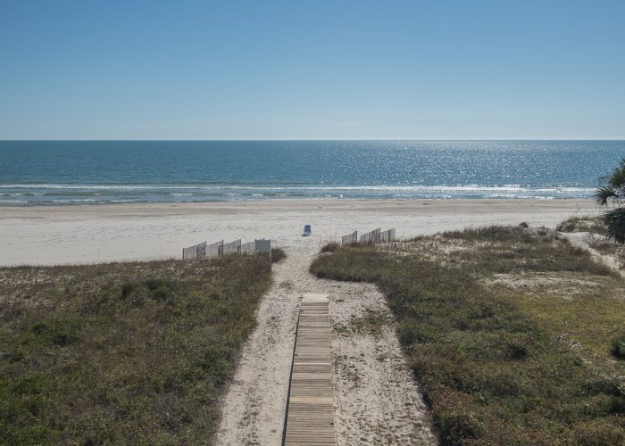 Breathtaking Views of Beach and Gulf of Mexico From Two Palms Villa Upper Deck