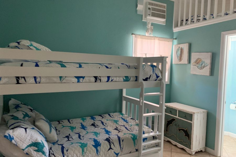Ground Floor Kids BDR-Bunk Beds-Window Air Unit-Loft bed
