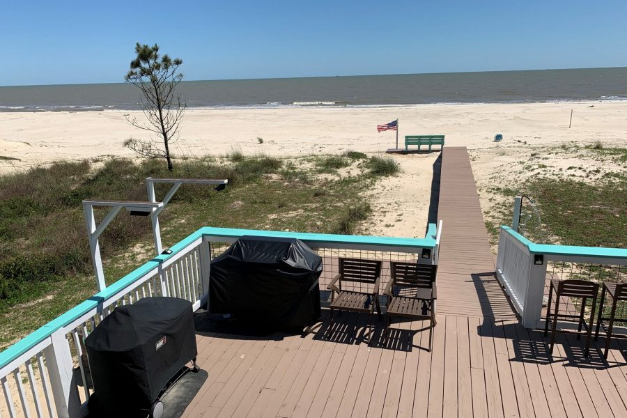 Open Air Deck #3- View of Boardwalk