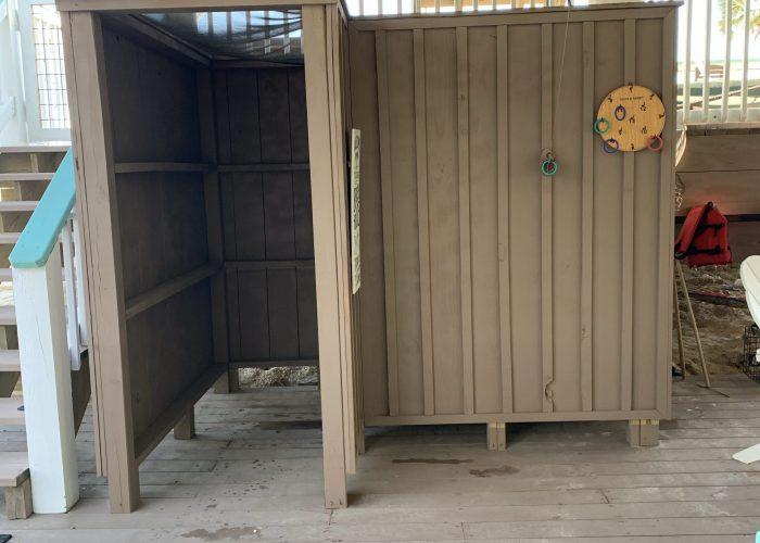 Ground Floor Outdoor Privacy Shower