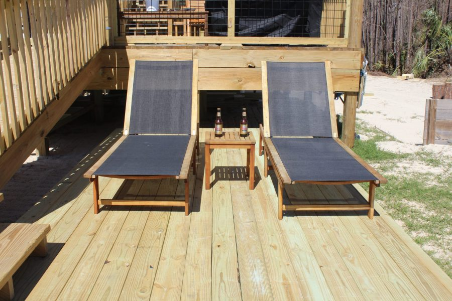 Open Air - Sunbathing Privacy Deck #5