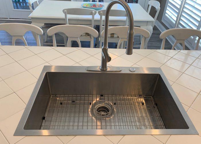 Huge Stainless Steel Sink
